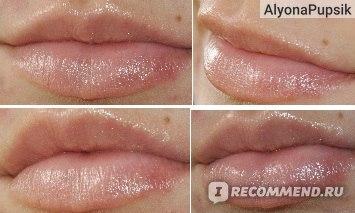 Фото губки поцелуй