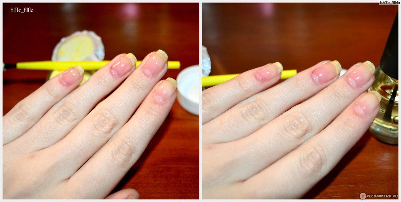 Запечатка своих ногтей фото