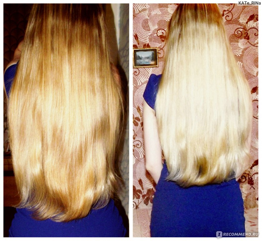 Маска чтобы сделать волосы прямыми