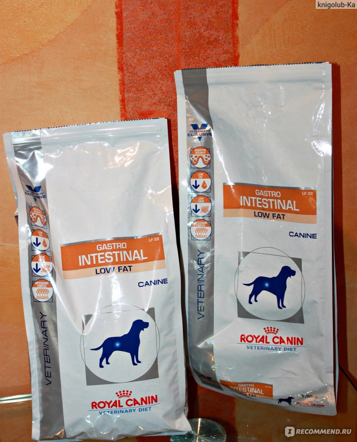 Корм royal canin при панкреатите