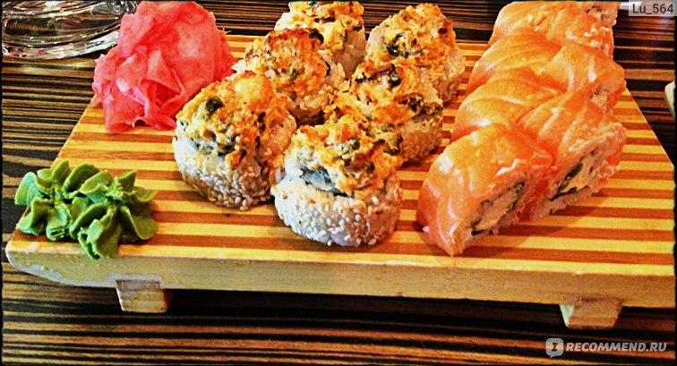 рыба рис суши бар официальный сайт
