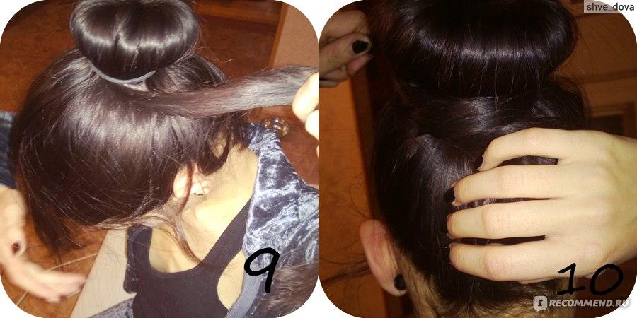 Как сделать кубышка из волос 958