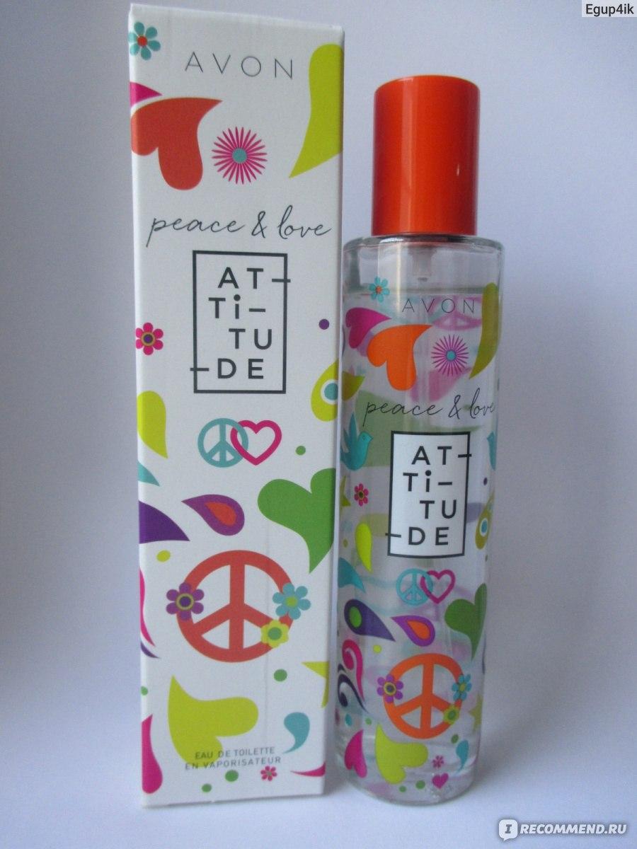 Avon Peace Love Attitude заказала ради хиппового флакона а тут