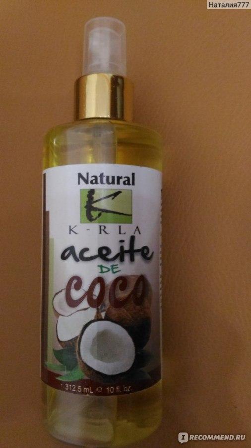 Жидкое кокосовое масло для волос