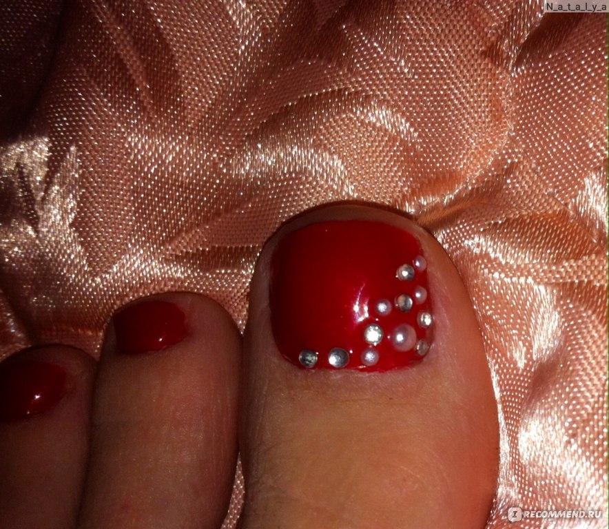Покрытие гель лаком на маленькие ногти 70