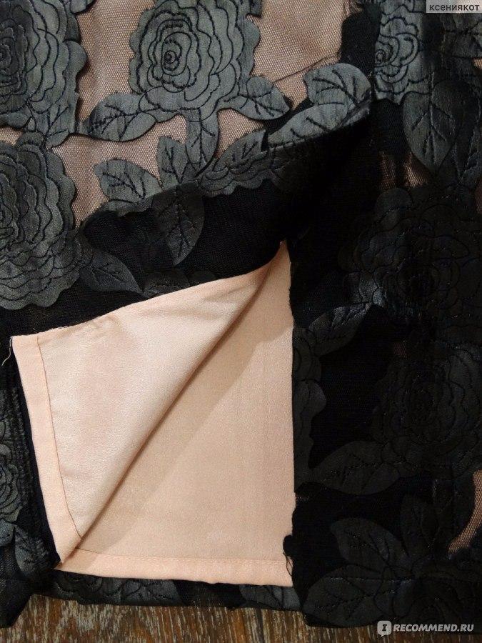 Юбка с аппликацией из кожаных роз отзывы