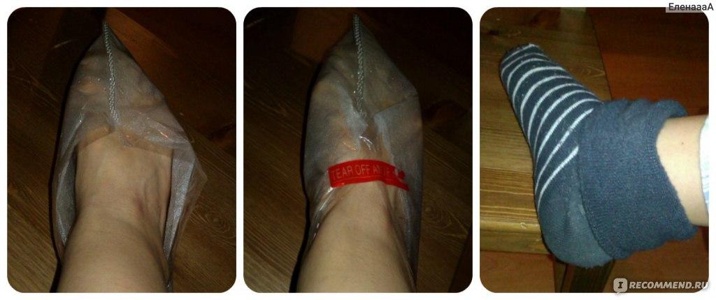 Носочки для педикюра с алиэкспресс как пользоваться