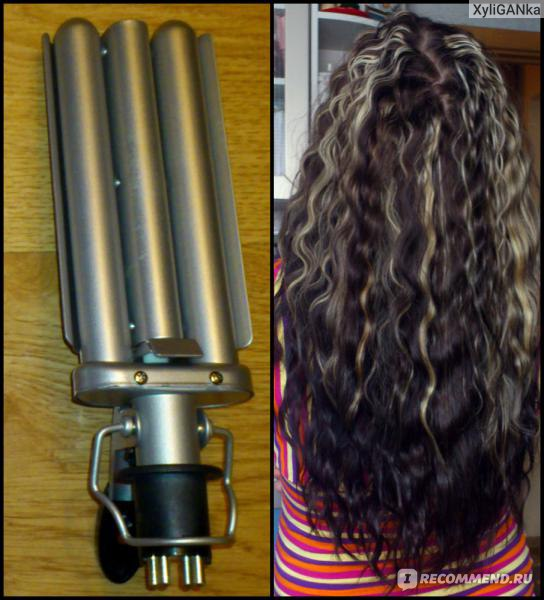 Плойка для волос причесок 143