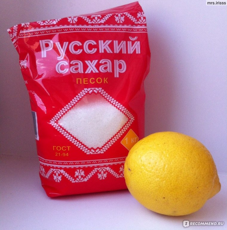 Сахар для депиляции в домашних условиях с лимонной