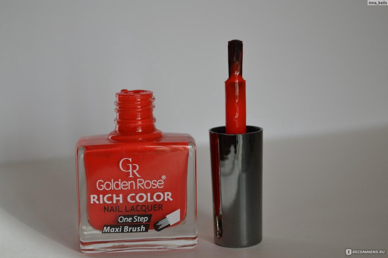 Голден роуз рич колор оттенок 21 фото на ногтях