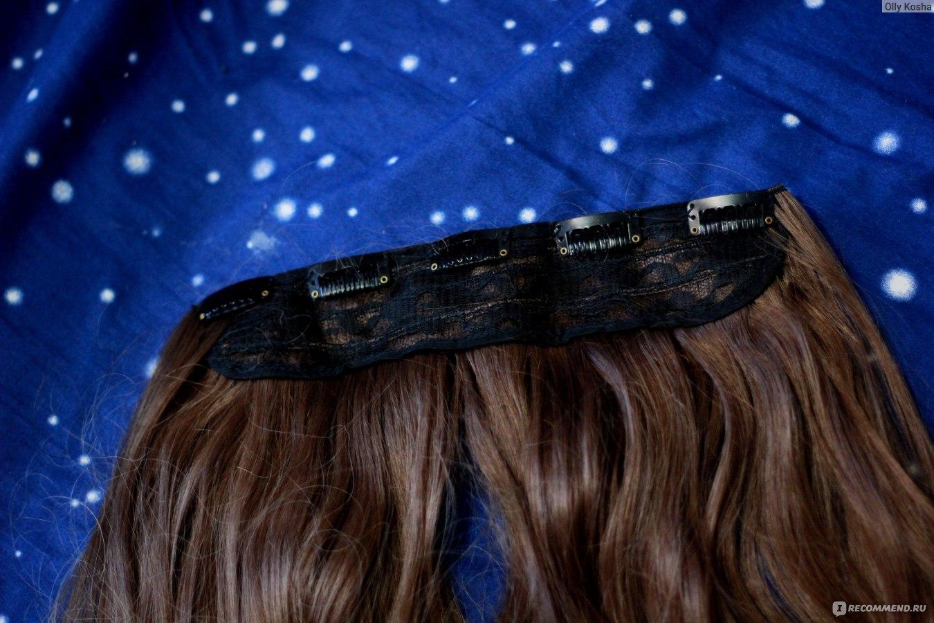 Волосы на заколках как одевать