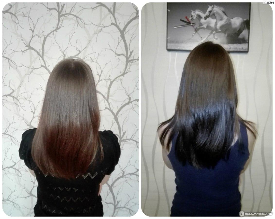 Краска для волос капус цвет шоколад