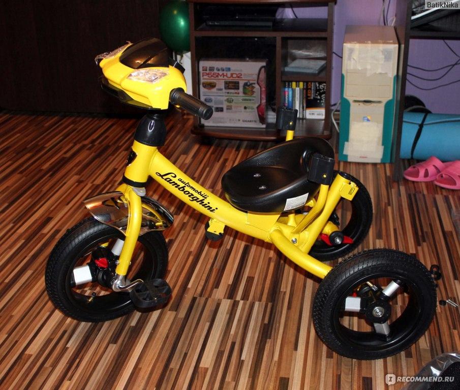Детский Велосипед Ламборджини Инструкция По Сборке - фото 7