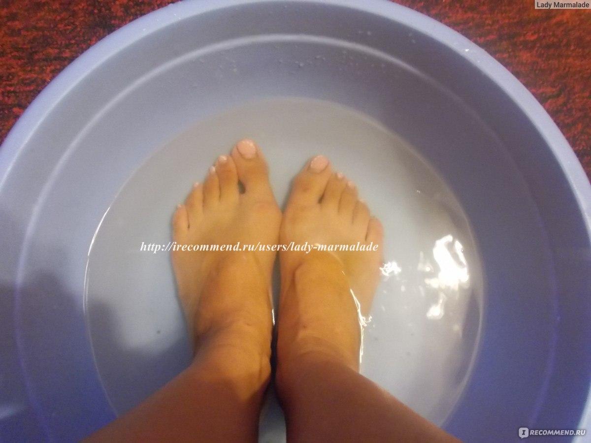 Как сделать ванночки для ног в домашних  361