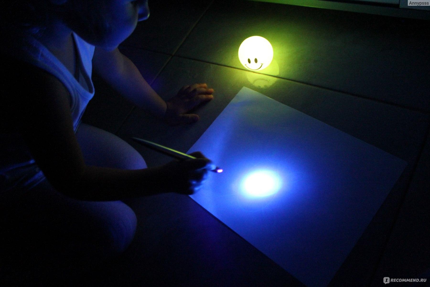 Рисунки светом на фото как сделать
