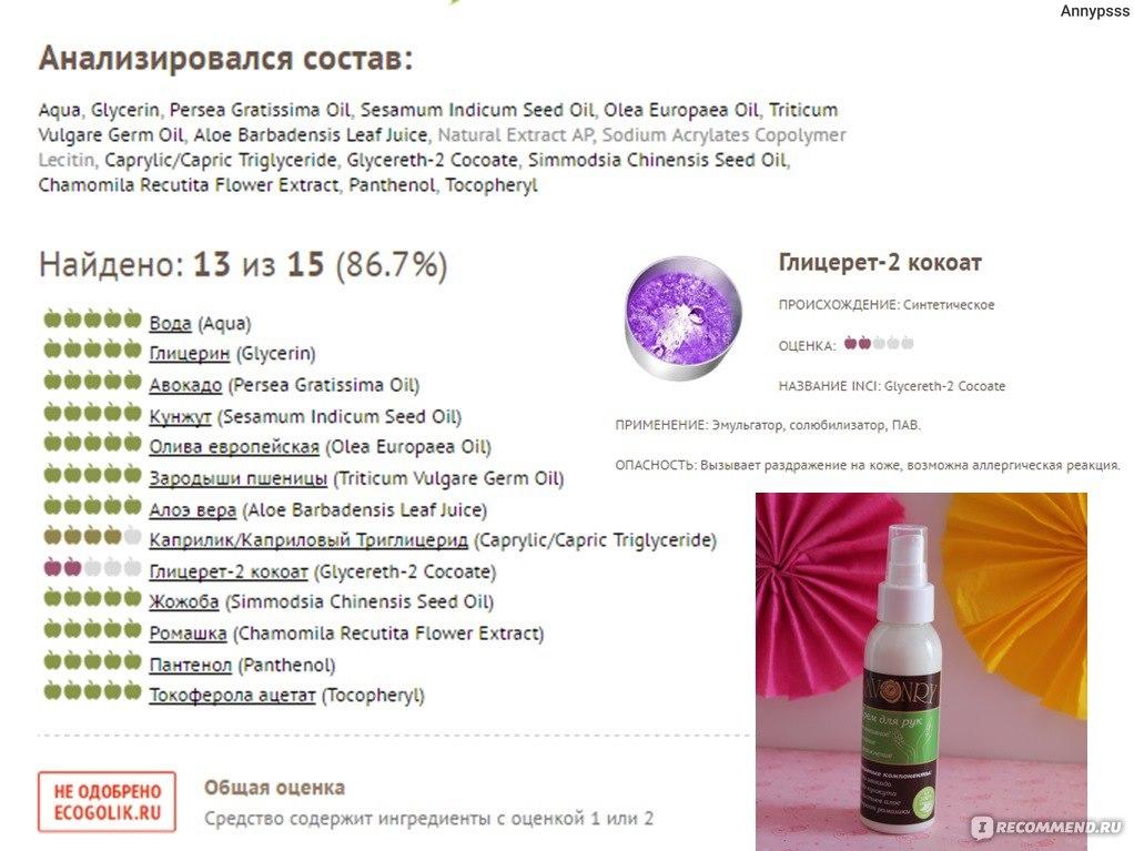 Olea europaea oil в косметике что это