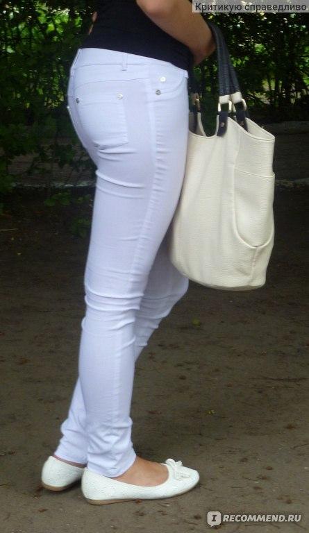 a303f31c5025 Брюки Mango Белые Sexy stretch - «Любимые штаны на лето+ фото ...