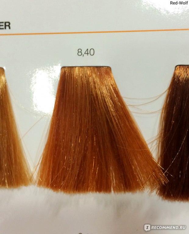Профессиональная краска для волос иноа лореаль палитра цветов 125