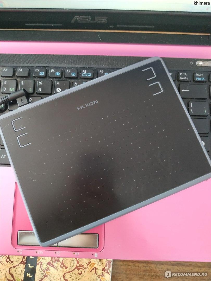 Графический планшет Huion H430P - «Бюджетный графический
