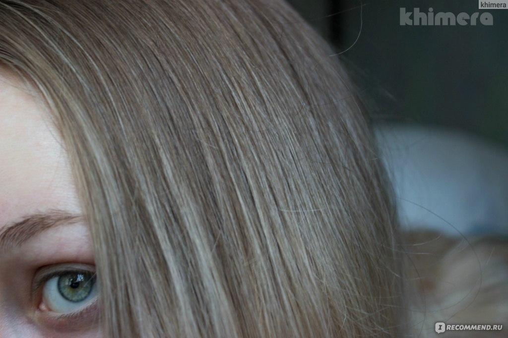 Цвет волос дымчатый топаз
