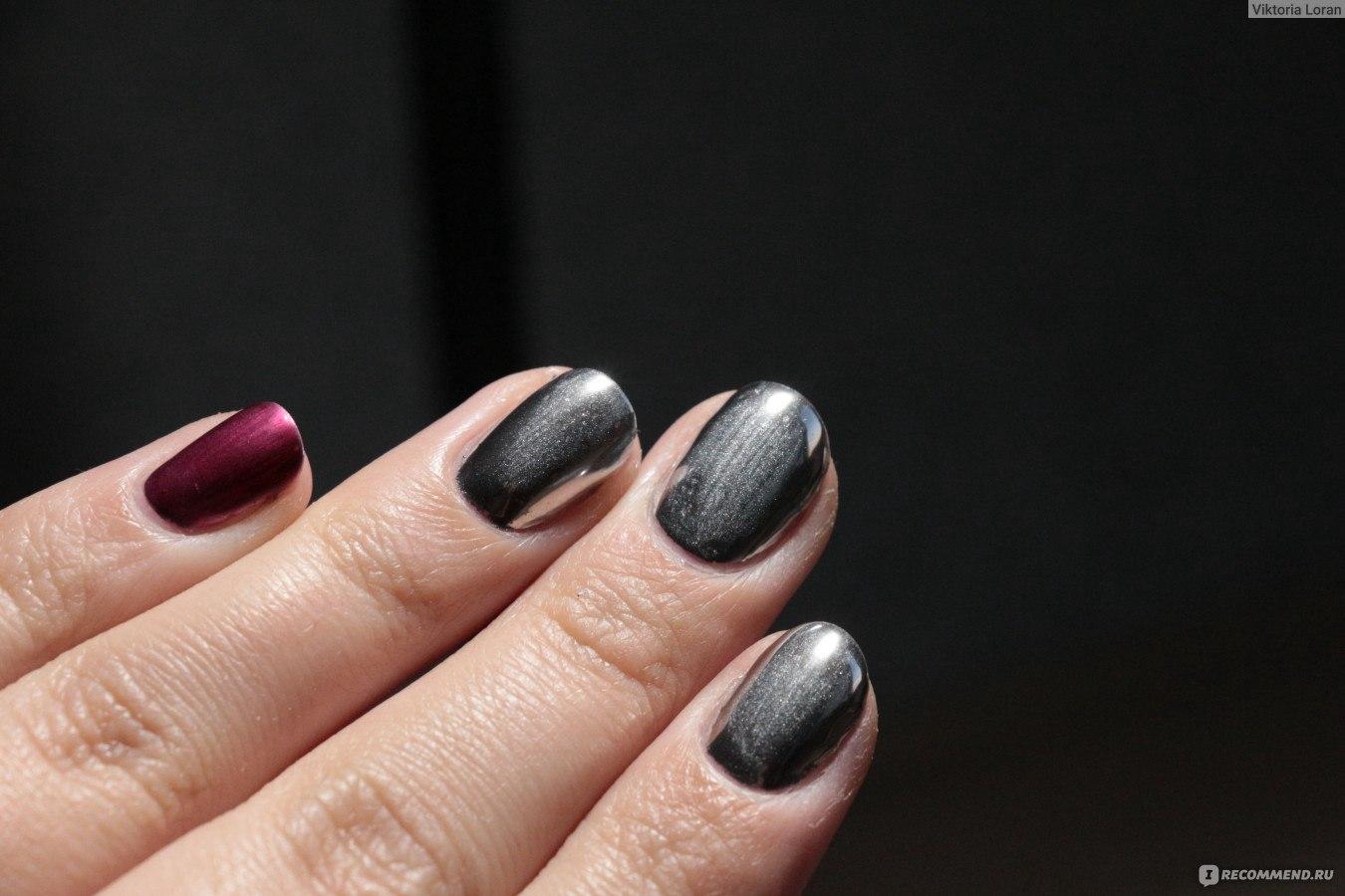 Как нанести хром на ногти