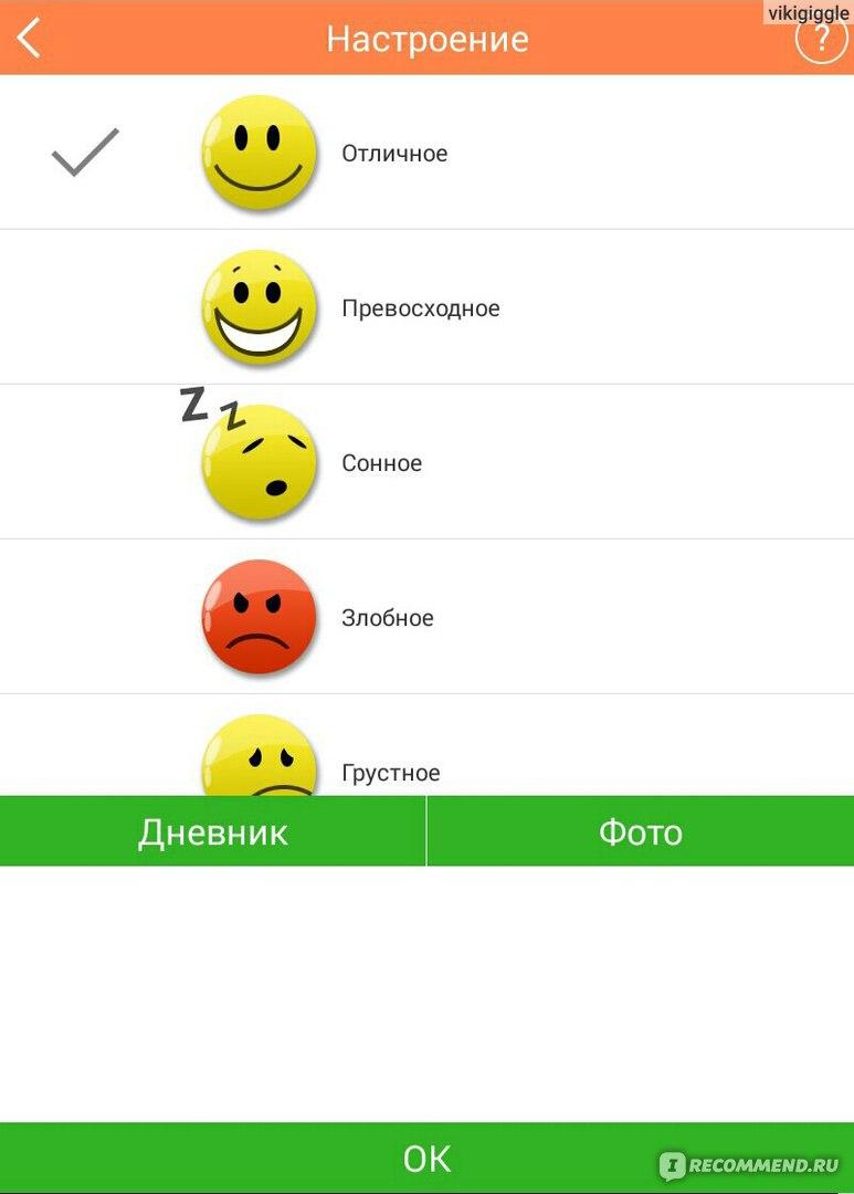 Приложение Для Ведения Журнала Похудания Android
