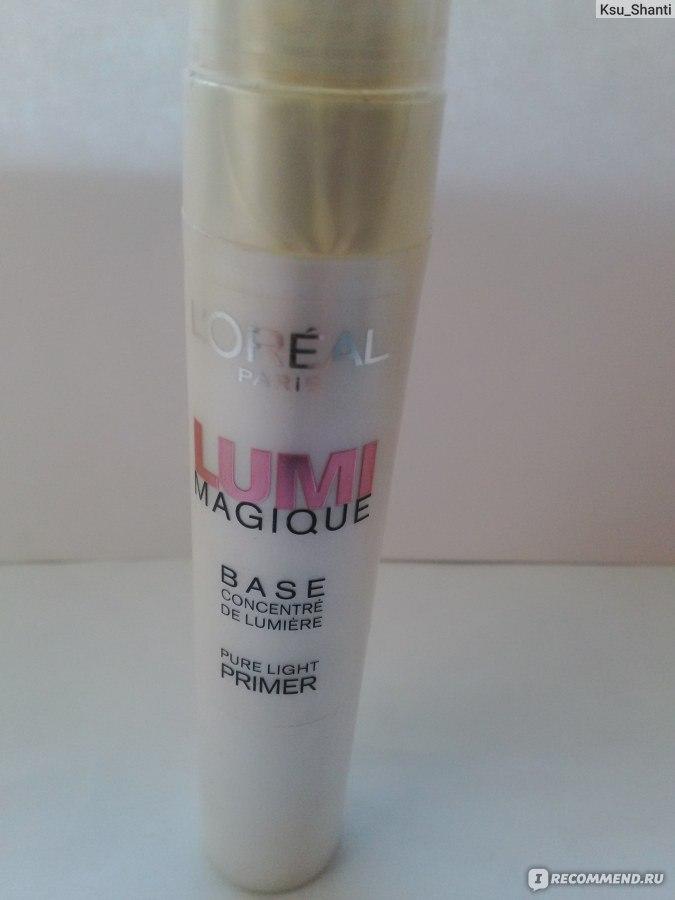 Основа под макияж l'oreal lumi magique концентрат света 20 мл l'oreal paris