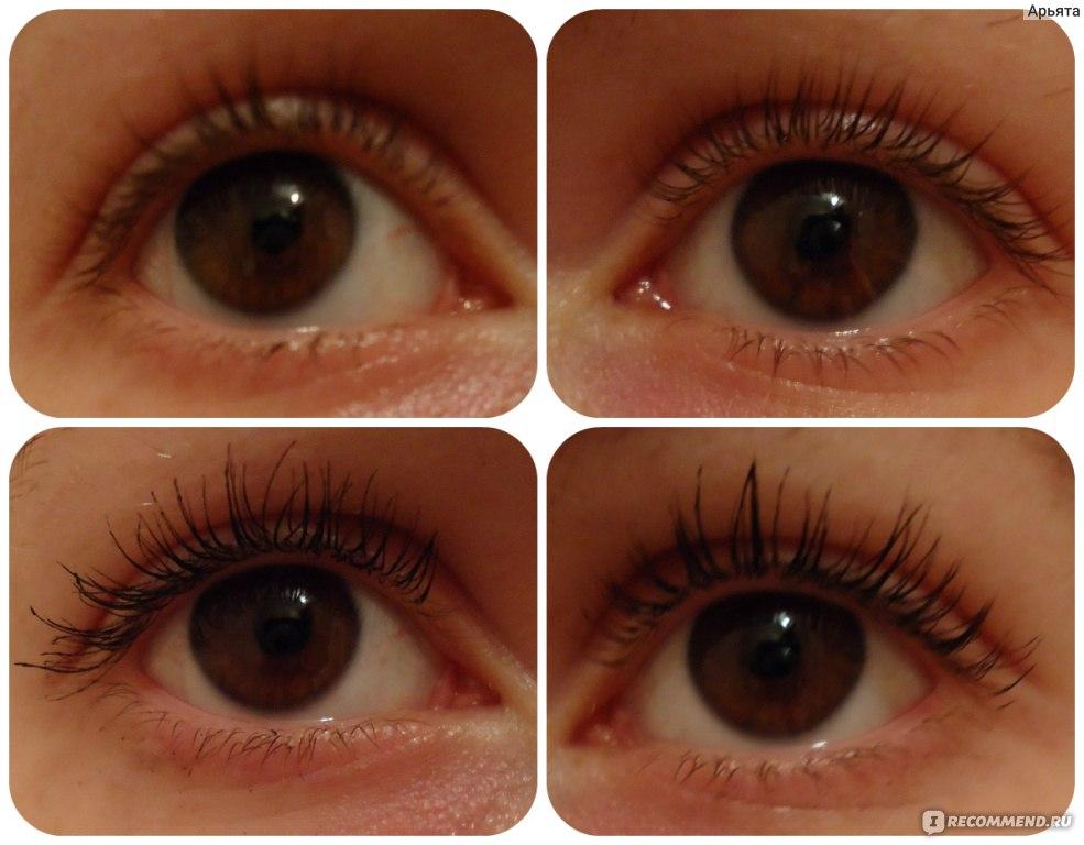 Нарощенные ресницы 5д эффект фото до и после
