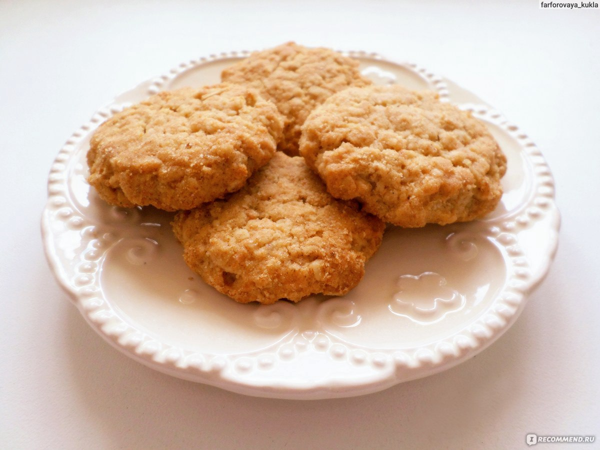 Печенье из овсяных отрубей рецепт