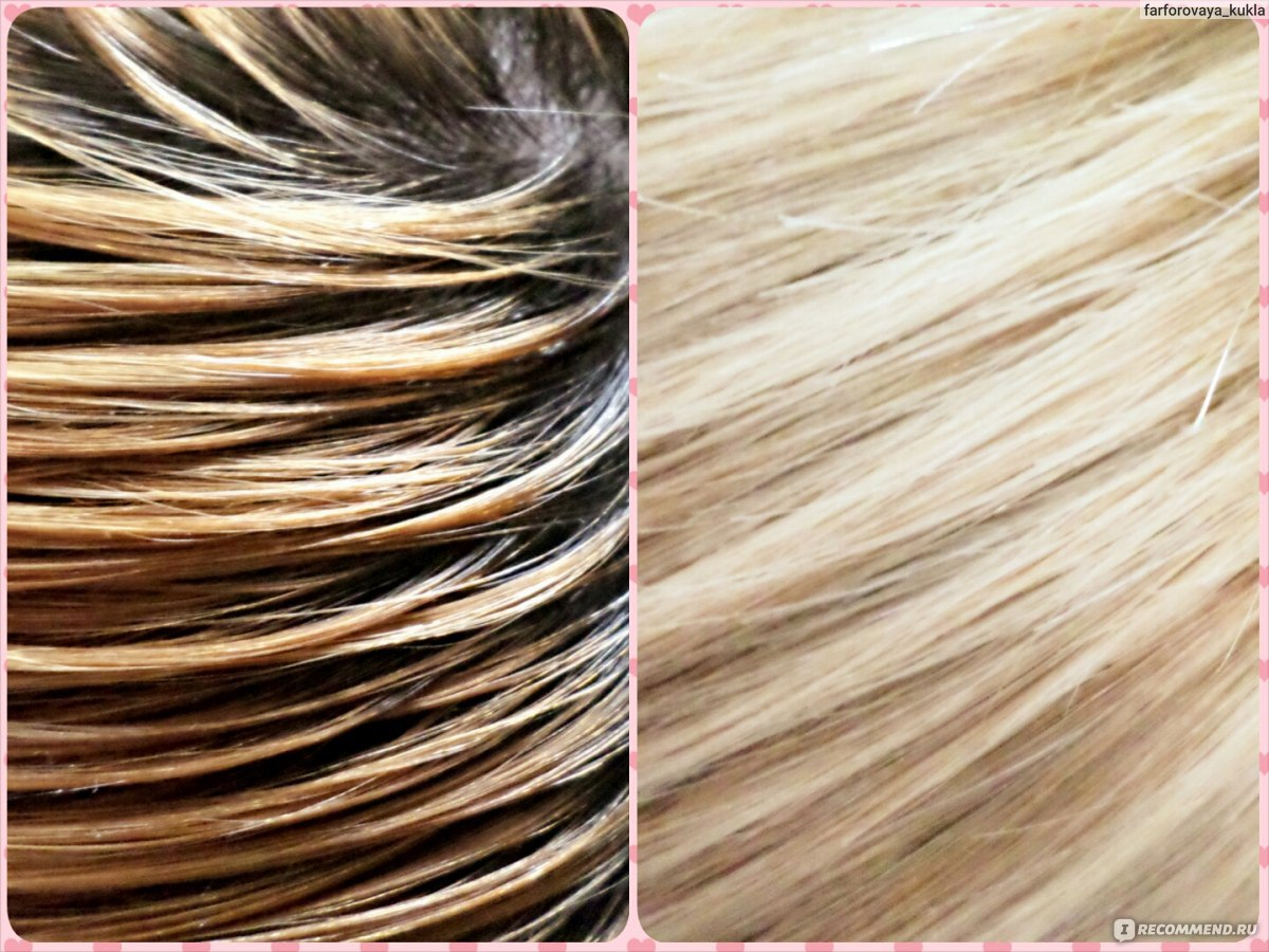 Как обесцветить волосы в домашних условиях перекисью 78