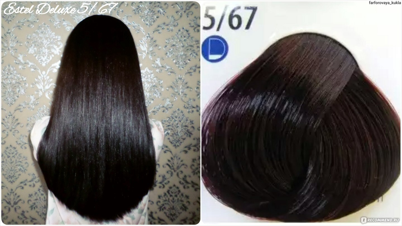 Краска для волос с фиолетовым оттенком отзывы