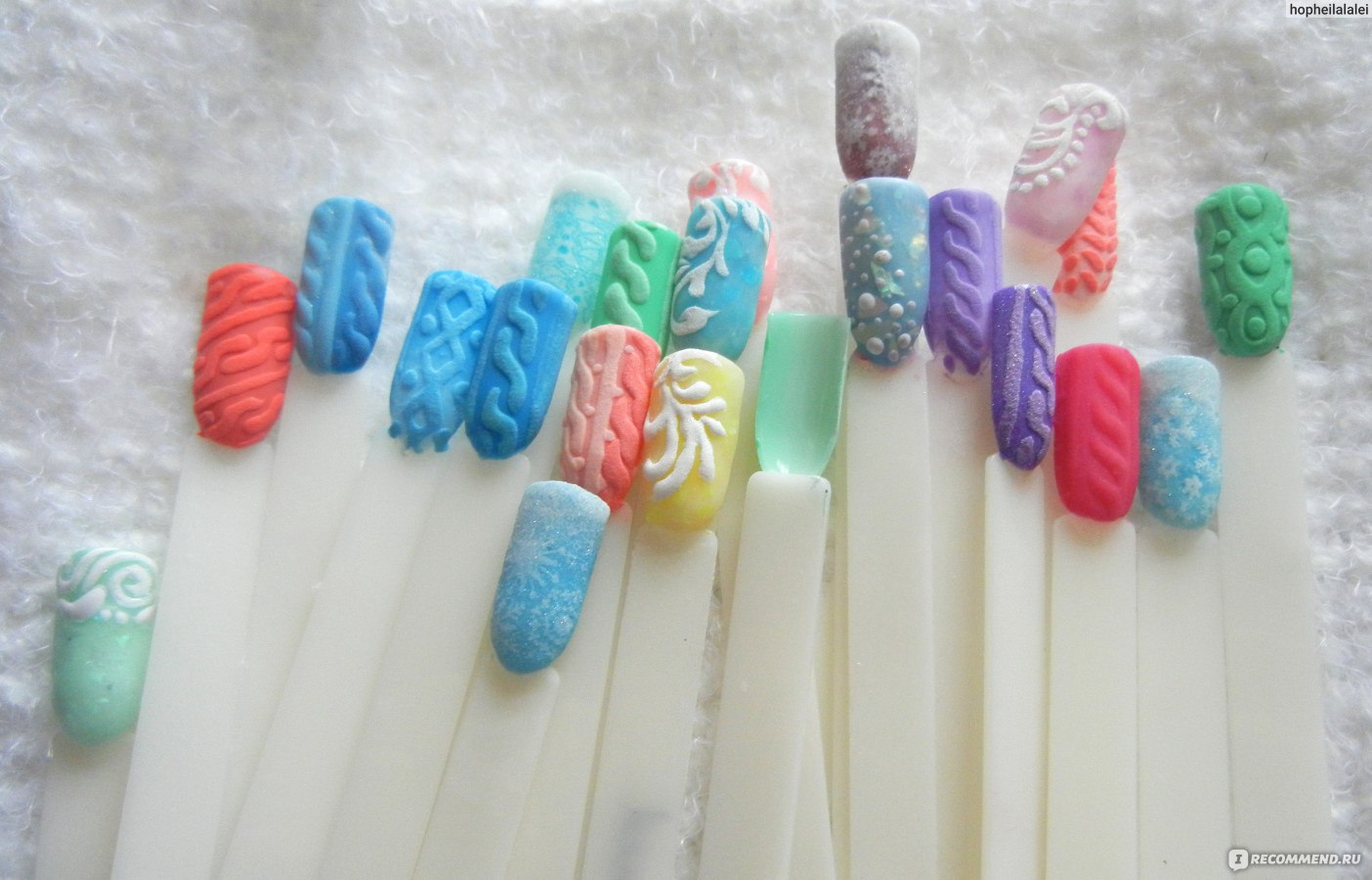 Дизайн ногтей с акриловой пудрой на гель-лаке пошагово фото