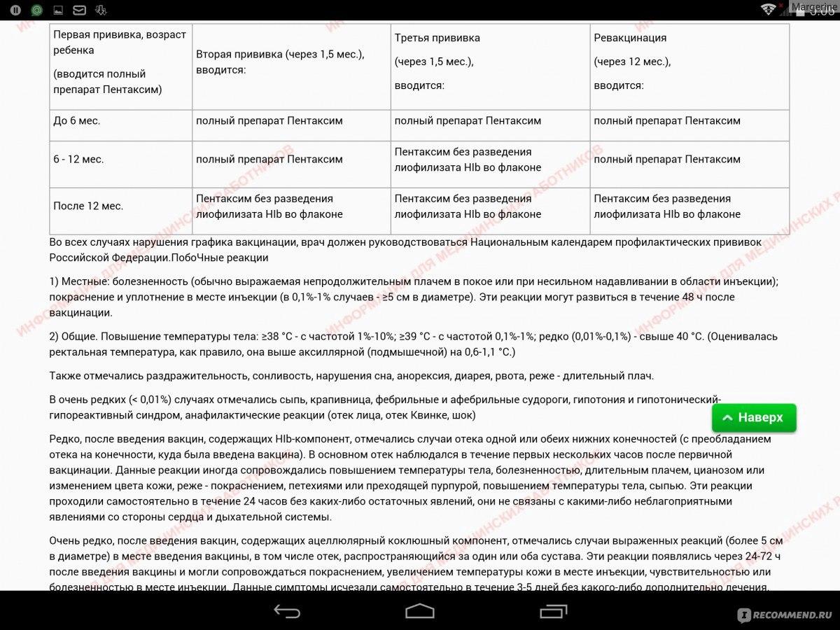 вакцина синфлорикс инструкция цена
