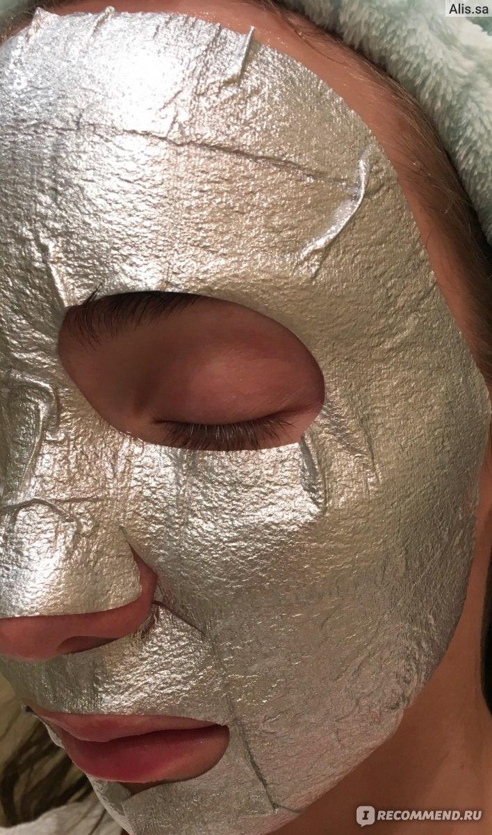 Маска для лица Dr. Smart by Angel key Silver Foil Mask Whitening ...