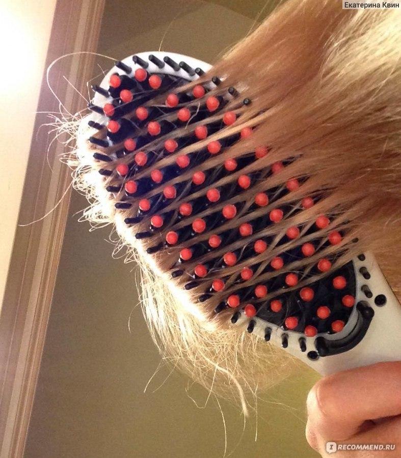 Выпрямитель для влажных с расческой волос