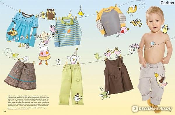 Журнал с выкройками для детей ottobre фото 857