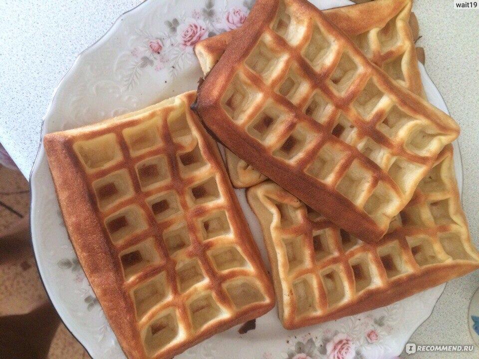 Вафли венские в духовке рецепт с пошагово