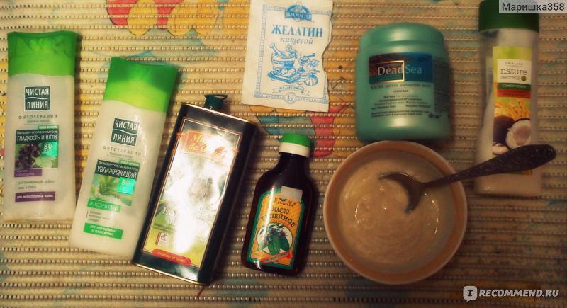 Желатин для сухих волос в домашних условиях