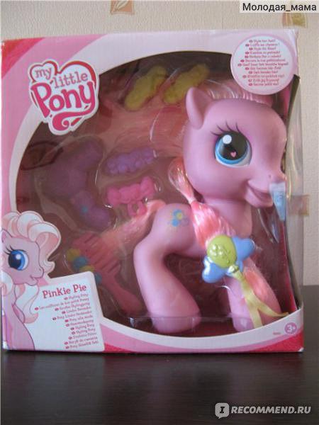 Стильная прическа для пони