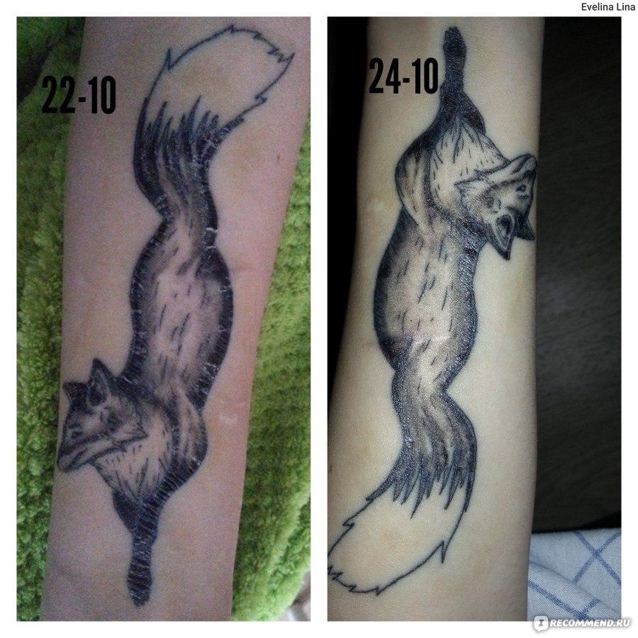 Когда сделал тату как мыться 321