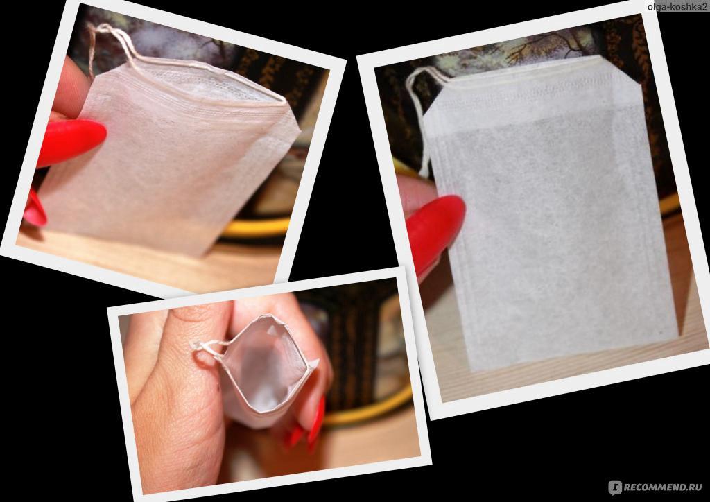 Из чего сделать пакетики для чая
