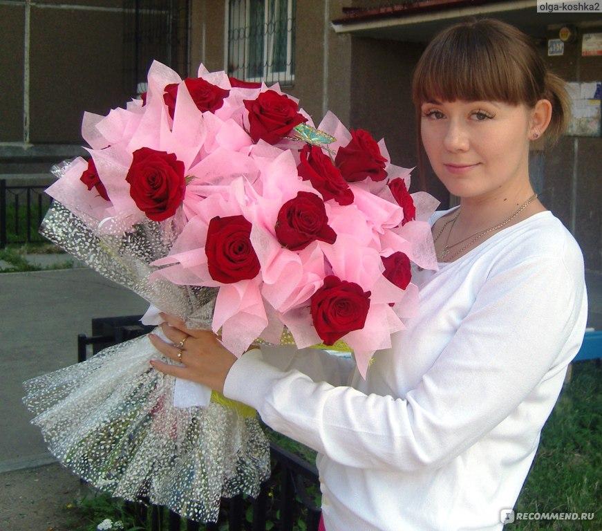 Как сделать букеты из роз в виде сердце 3