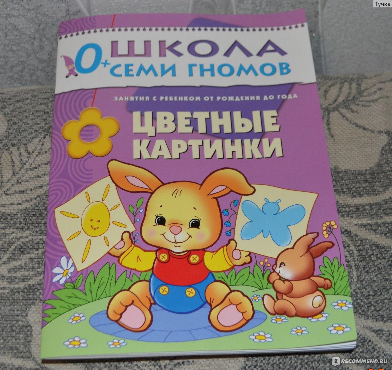 Школа семи гномов книга цветные картинки