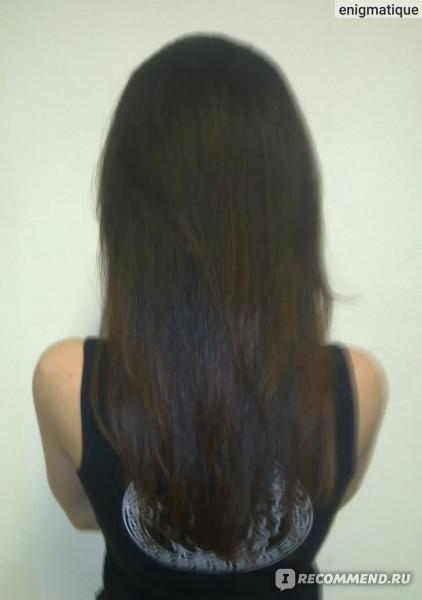 Обязательно сушить волосы феном после кератинового выпрямления