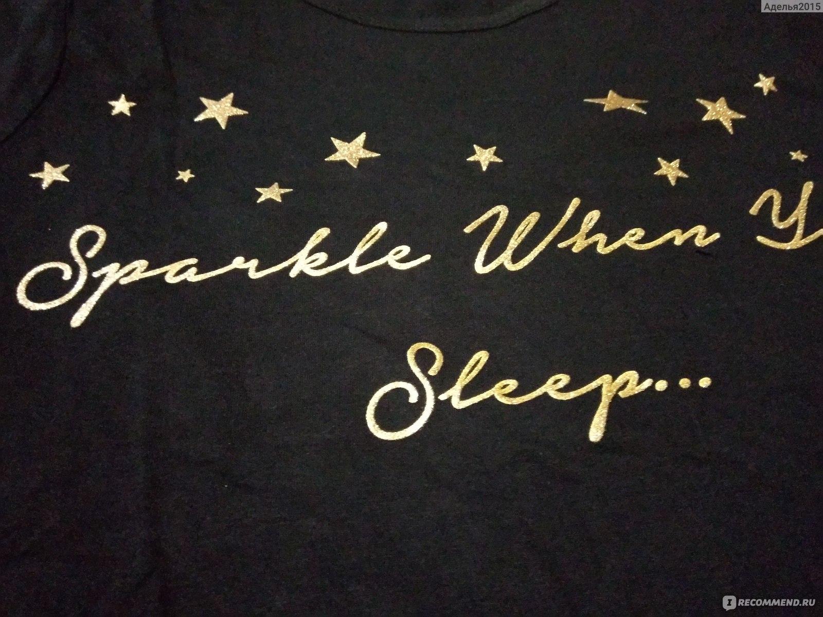 a2a22dccfeb8 Пижама женская AVON Черная со звёздочками - «Пижама женская от Avon ...