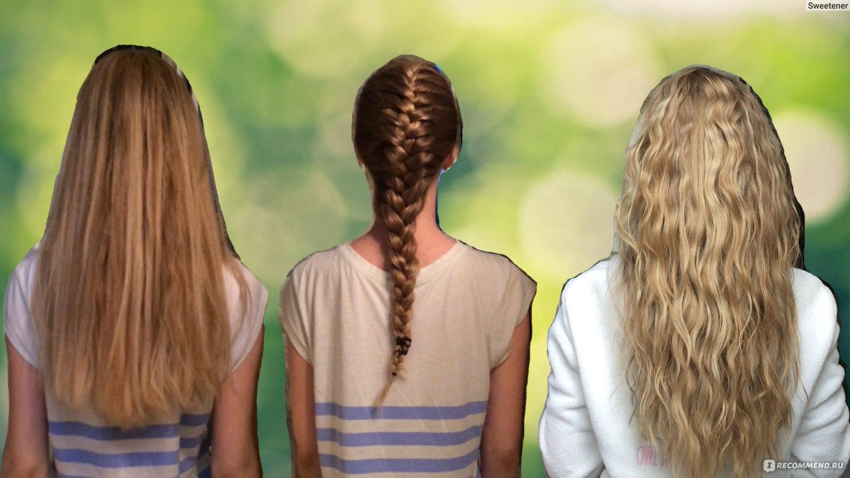 Как сделать глянцевые волосы вшопе