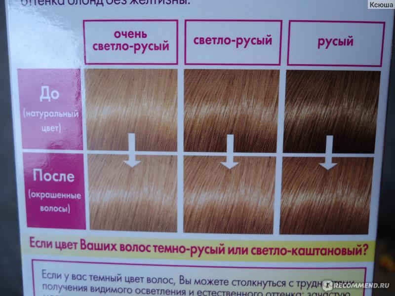 Как из темно русых волос сделать светло русые