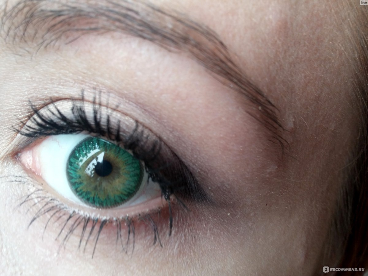 Купить. Офтальмикс Butterfly Цвет Green (зеленый) Яркие контактные линзы ежеквартальной...