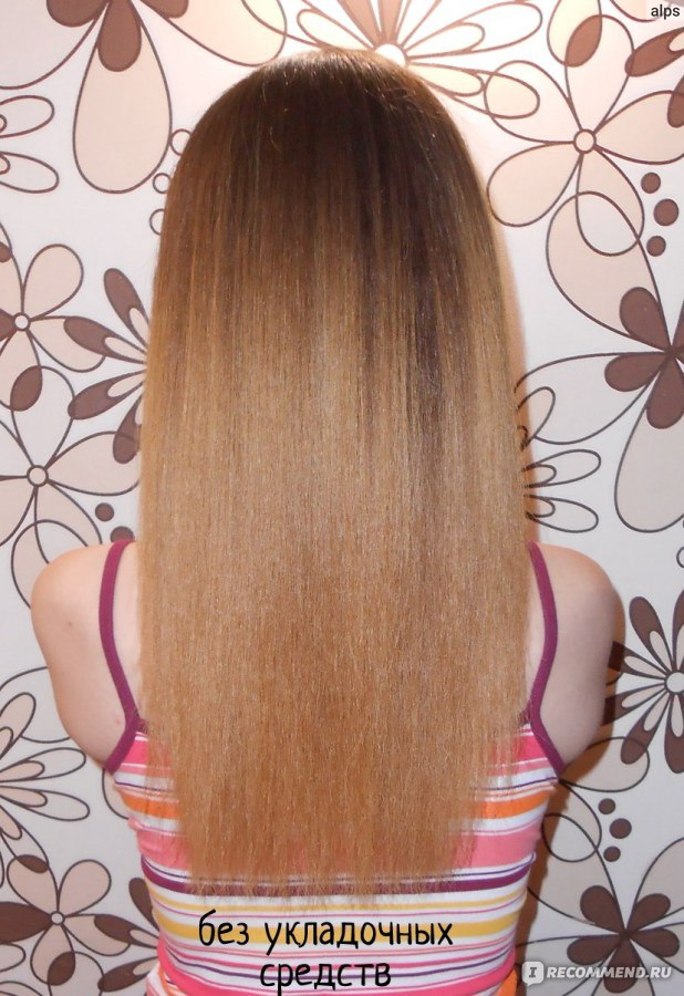 Как сделать волосы гладкими как шёлк