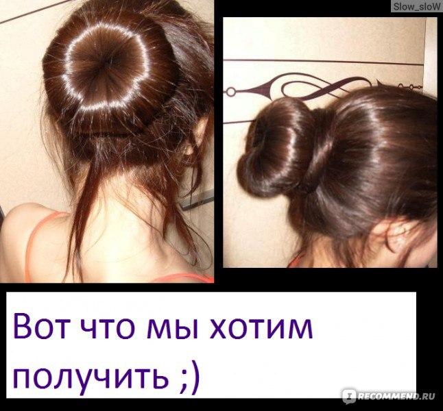 Как сделать гульку если волосы длинные и 302